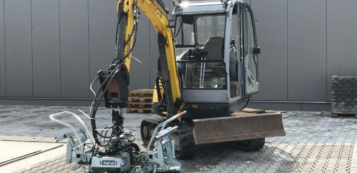 Projekt: Autohaus Graupner in Brandis – Pflasterarbeiten einer neuen Gewerbefläche